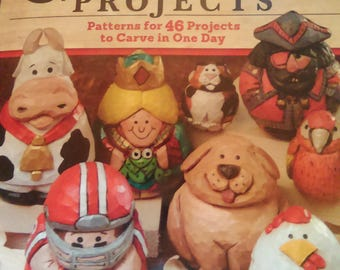 Quick & Cute Carving Projects (book only)