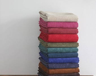 Medium Wale Cotton Corduroy - Choose From 13 Colors - By the Yard 98449-1 360