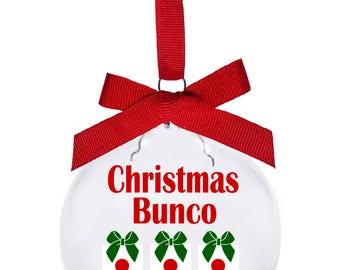 Christmas Bunco 2017 with dice Christmas presents