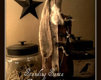 Standing Santa Pattern #95