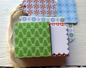 Christmas Stationery- Mixed pack of envelopes, tags and note cards