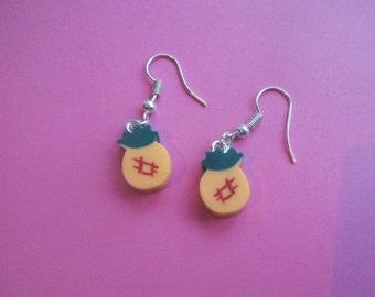 Kawaii Tropical Pineapple Earrings