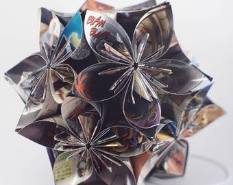 Origami Kusudama ornament