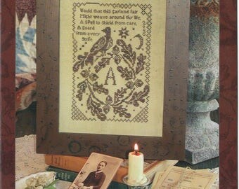 KIT - Garland Fair by Blackbird Designs - Loose Feathers Club #16 - OOP Kitted Cross Stitch Pattern