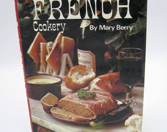 Popular French Cookery, Mary Berry, 1972, good condition