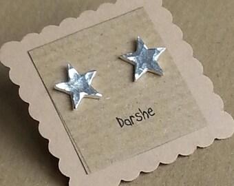 Star Stud Earrings, Tiny star Stud Earrings, Star Earrings, Sterling Silver Star Earrings, Silver Star Earrings