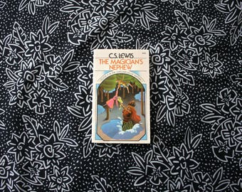 The Magician's Nephew By C.S. Lewis. 1970s Vintage Paperback of Book 6 In The Chronicles Of Narnia. Vintage Classic Childrens Fantasy