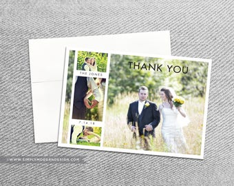 wedding thank you card, guest thank you, to our guests, postcard, wedding, bridal shower, engagement, PRINTABLE or PRINTED thank you