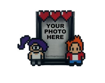 Couples Picture Frame - Nerdy Wedding Gift - Nerdy Anniversary Gift - Nerdy Valentine's Day Gift - Geeky Wedding Gift - Nerdy Decoration