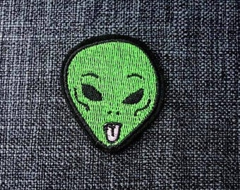 Alien Dude Patch (1 Piece)