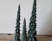 DEPT 56 DICKENS' VILLAGE Pencil Pines set of 3 Trees