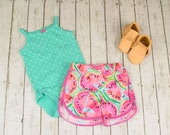 Girls Summer Outfit, Baby Girl Coming Home Outfit, Baby Girl Clothes, Baby Shorts, Baby Shorties, Baby Girl Coming Home Outfit