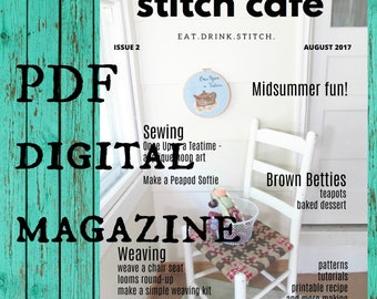 Stitch Cafe Issue 2 August 2017 - digital craft magazine PDF