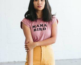 Mama Bird, muscle tee by The Bee & The Fox