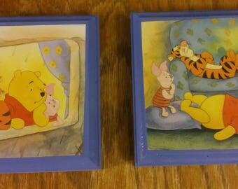 Winnie the Pooh Plaque Set