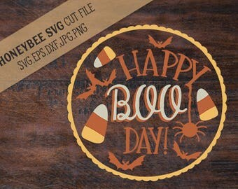 Happy Boo Day cut file and Printable