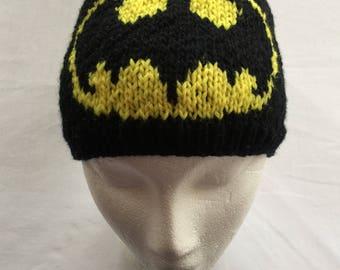 Batman Hat, Batman Beanie, Batman Winter Hat