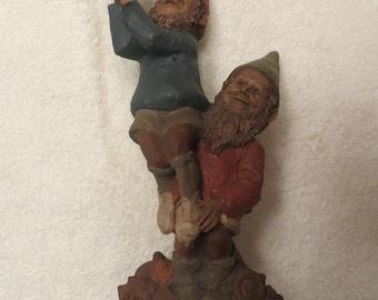 "Tom Clark Gnome Figurine ""Slam and Dunk"""