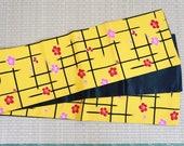 Yellow black Edo Japanese...
