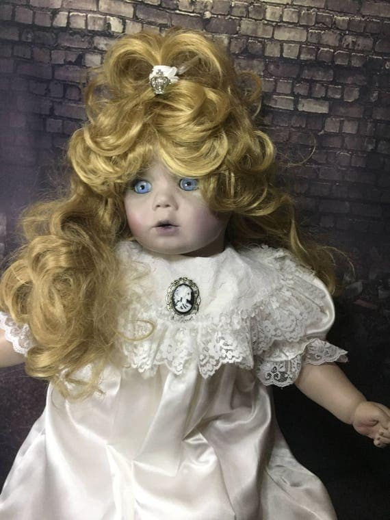 Georgiana Adel Original Royal Undead Large Doll Bright Eyed Zombie Limited Time Free Worldwide Standard Shipping Biohazard Baby