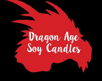 Dragon Age Inspired Soy/Coconut Candles