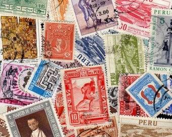 PERU Stamps, 50 Diff, Peru Postage stamps, Peruvian Postage Stamps, South American Stamps, Stamps, Postage Stamps, Peruvian Stamps