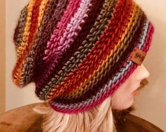 Wild Flower Slouchy Hat
