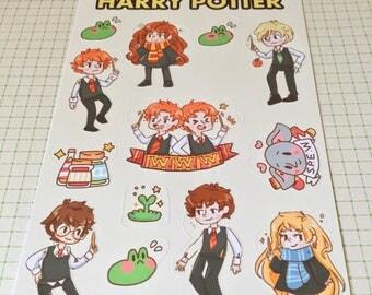 Sticker Sheet - Harry Potter