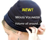 NEW- MOUSSE VOLUMIZER All In One Hat Boubou Bobo under Tichel, Headscarf, Chemo, Head Coverings volumizing Hijab Headpiece Bun, Hair Loss