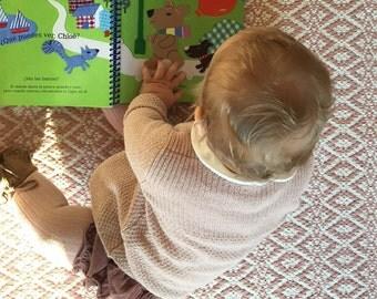 Baby name gift etsy baby name book newborn girl gift christening gift baby name gift newborn negle Choice Image