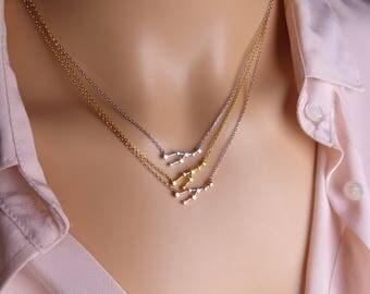 High quality zodiac Taurus Constellation Necklace,Taurus Necklace,Zodiac necklace, Constellation Jewelry,Gift idea,zodiac jewelry