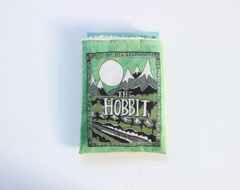 The Hobbit Book Sleeve // Hardcover Size // Literary Gift // Protect Your Books