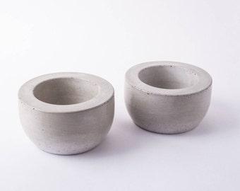 Concrete Planter Set