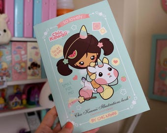 Chic Kawaii illustrations book.