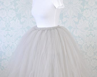 Women Tulle Skirt, Knee Length Tutu Skirt,Adult Tutu Skirt,Wedding Tutu,Bridal Tutu Skirt, Formal Tutu Skirt,Vintage Tutu Skirt,Tulle Skirt