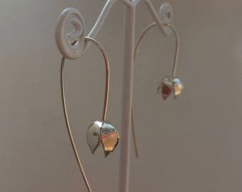 Lily Earrings - Handmade - Sterling Silver