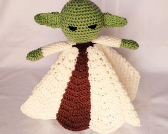 Yoda Inspired Lovey/Security Blanket