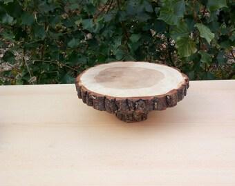 Wood Slices Centerpiece, 10