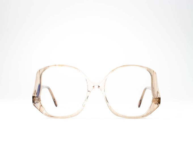 Vintage 70s Glasses | Oversize Glasses Frames | 1970s Eyeglasses | Seventies Deadstock Eyewear - Victoria 3