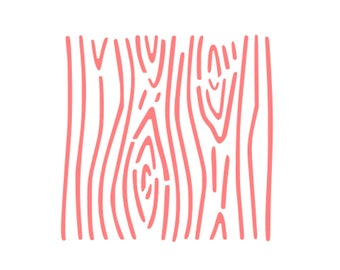"Woodgrain Cookie Stencil, Wood Pattern Cookie Stencil, Wood Cookie Stencil, Board Cookie Stencil, 5.5"" x 5.5"", Woodgrain Stencil"