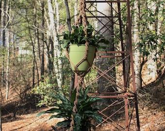 Cinnamon Double Plant Hanger
