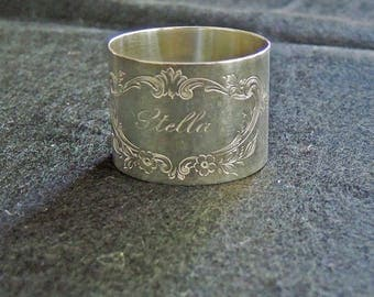 Vintage Sterling Silver Napkin Ring Frank M. Whiting Co.