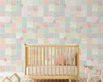forest fantasy nursery wallpaper baby room wall decal art. Black Bedroom Furniture Sets. Home Design Ideas