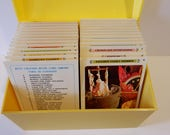 The Betty Crocker Recipe Card Library, Complete Collection, Vintage 1971