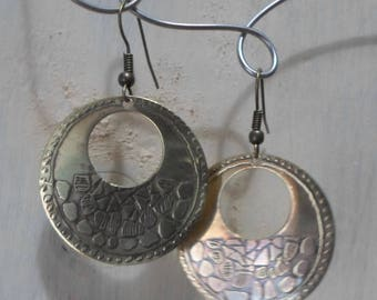 circular Stud Earrings