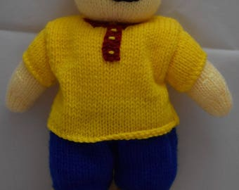 Caillou Knit Toy