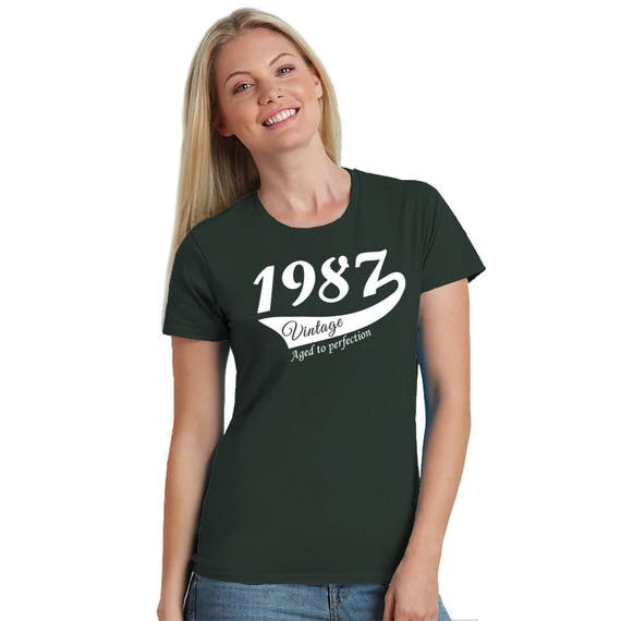 30th birthday party shirt ladies crew neck t shirt 30th birthday gift for her daughter wife sister girlfriend friend Sizes S-2XL 6+ colours