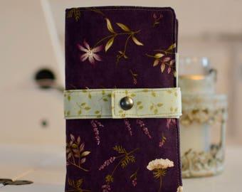 Family passport wallet organizer - handmade - 4-6 passports