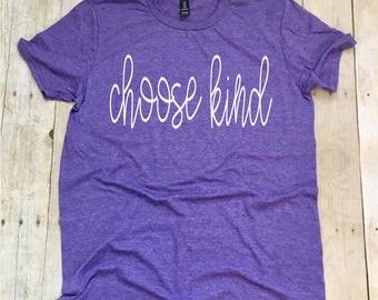 Teacher Shirts, Choose Kind Teacher TShirt, Kindness Shirt, Teacher T-Shirt, Teacher Tee, Be Kind Always T-Shirt, Kindness Shirt For Teacher