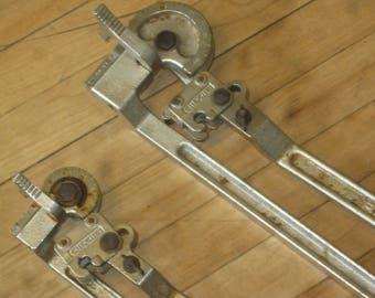 Two Pipe Benders , Ridgid Pipe Benders , Tubing Lever Pipe Bender
